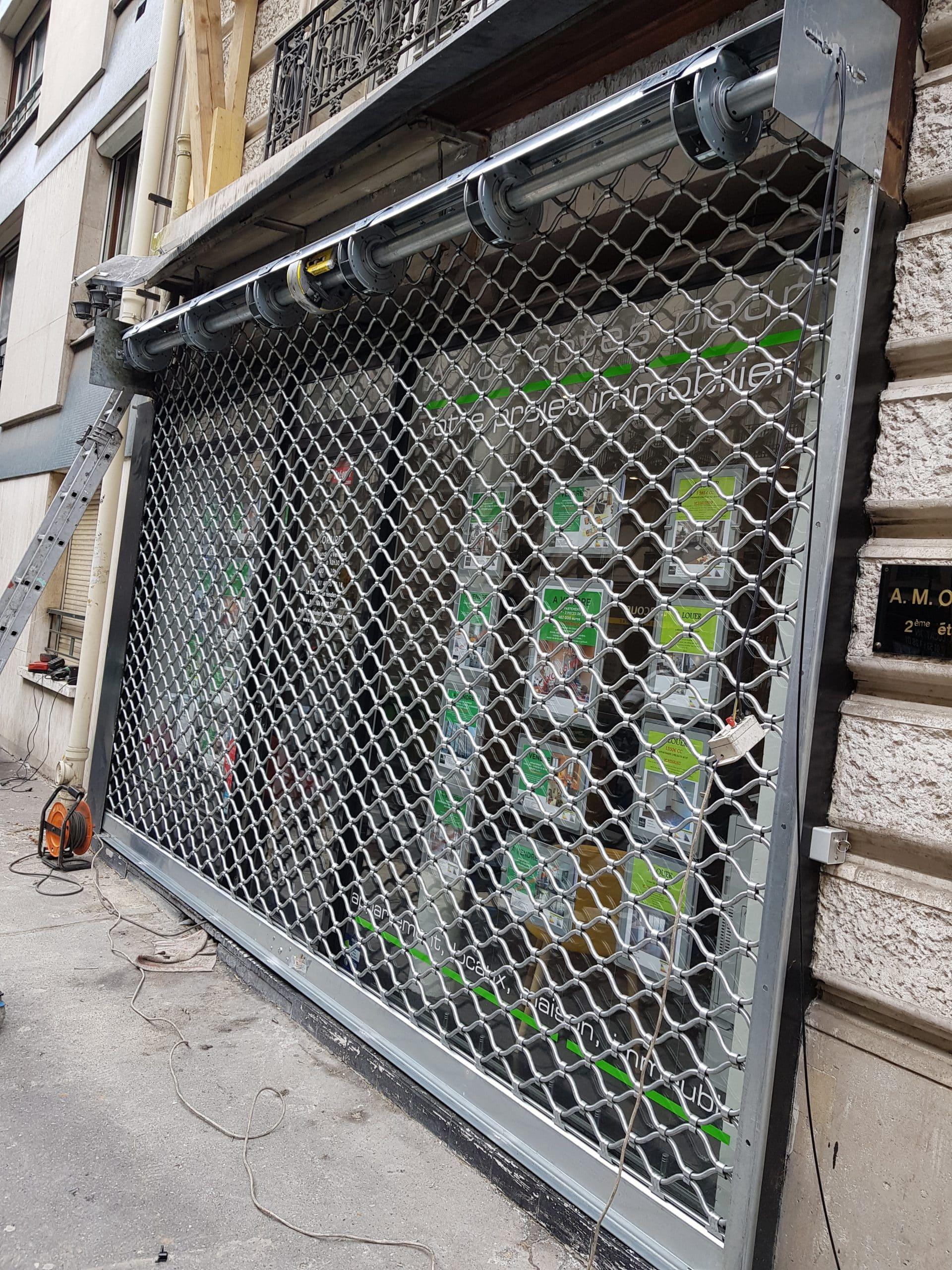 Dépannage rideau métallique magasin Antony ET île de France