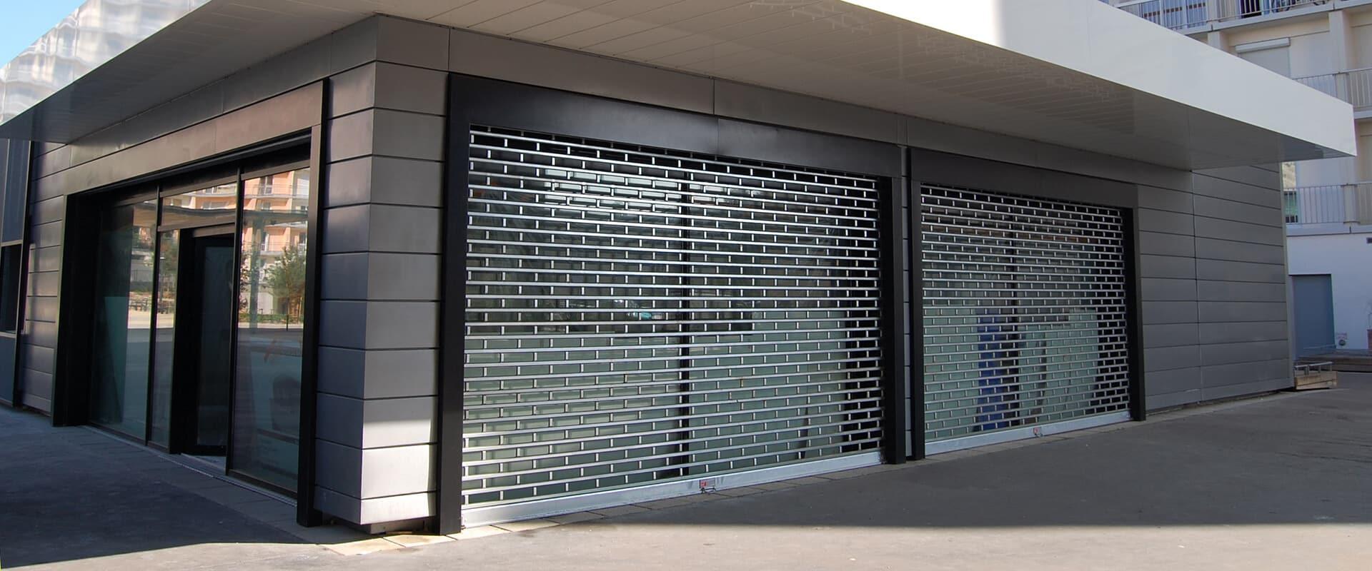 Les rideaux métalliques pour la sécurité de votre local